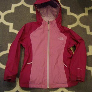 North Face Girls Youth XS Size 6 DryVent Raincoat